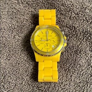 Michael Kors Yellow Watch
